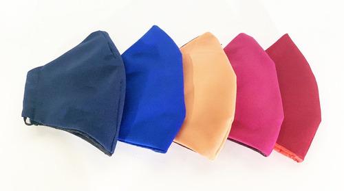 cubre bocas seguros y lavables paquete con 5pz