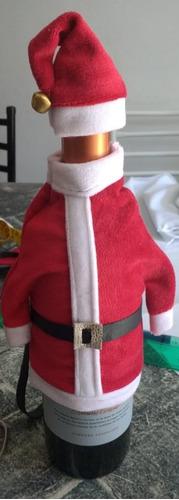 cubre botella navideñas
