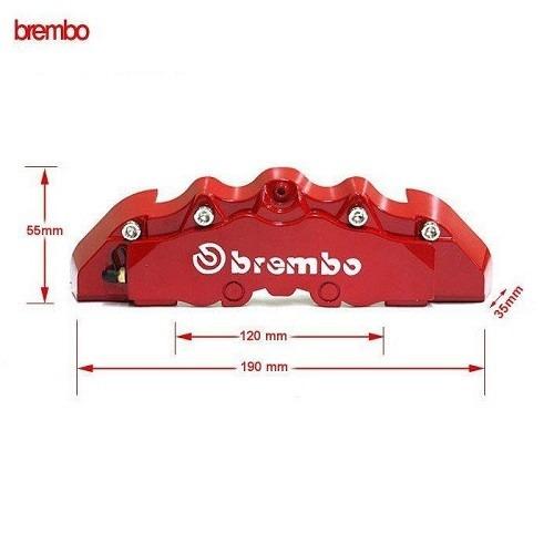 cubre caliper brembo 15 a 19 pulgadas tunning