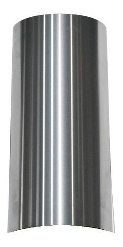 cubre caño 50cm para campana cocina acero inox maraldi