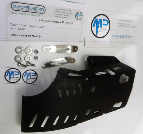 cubre carter aluminio kawasaki versys kle 650 motoperimetro®