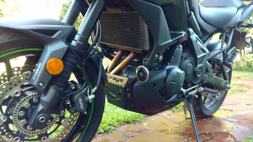 cubre carter proteccion motor kawasaki versys 650 kle
