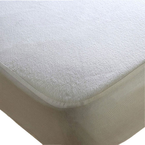 cubre colchon impermeable protector toalla y pvc 2 plazas
