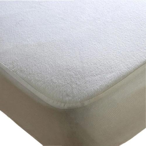 cubre colchon impermeable toalla y pvc cuna funcional 140x90