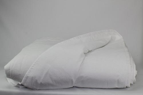 cubre colchón ind premium capitonado arriba ahulado abajo c/