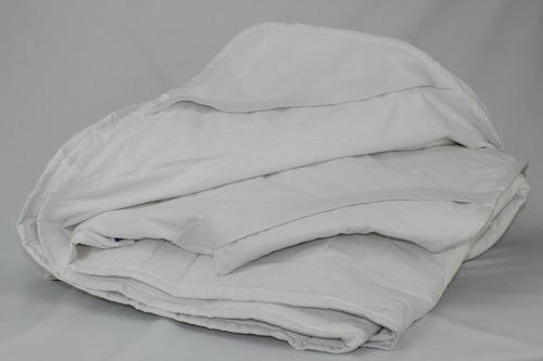 cubre colchón ks premium capitonado arriba ahulado abajo c/