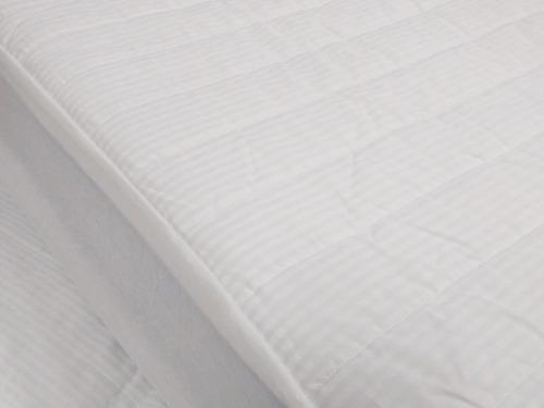 cubre colchón protector fiberball - 2 plazas 1/2 - 150x190