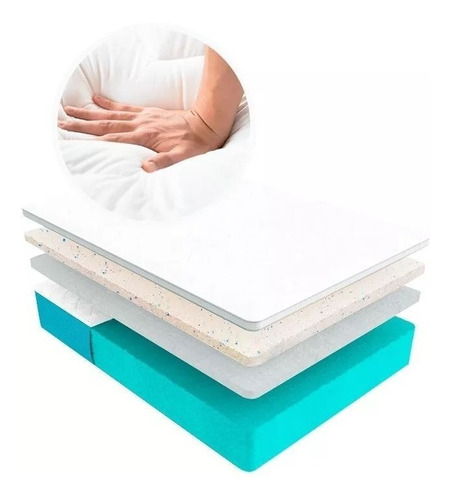cubre colchón sognare king size + audifono sony regalo