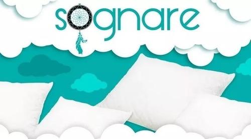 cubre colchón sognare king size original, envío full