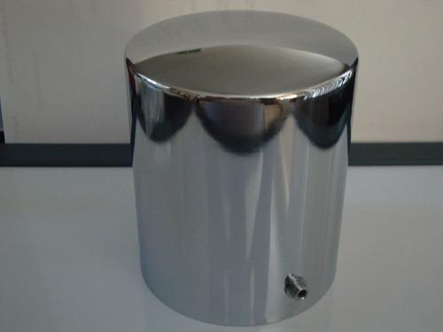 cubre filtro aceite motor cromado mustang maverick camaro