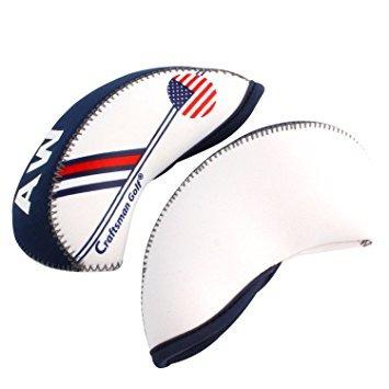 cubre la cabeza craftsman de golf blanca..