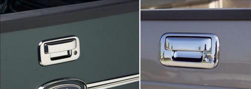 cubre manija cromada de batea ford f150 lobo 2004 - 2014