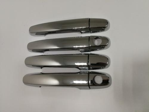 cubre manijas cromadas toyota hilux sw4  kit de 4