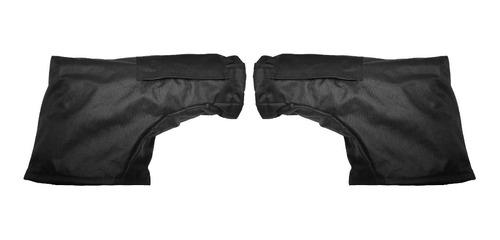 cubre manos doble abrigo impermeables termicos sti moto full