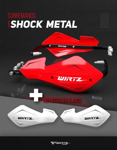 cubre manos puños alma aluminio tornado wirtz® shock metal