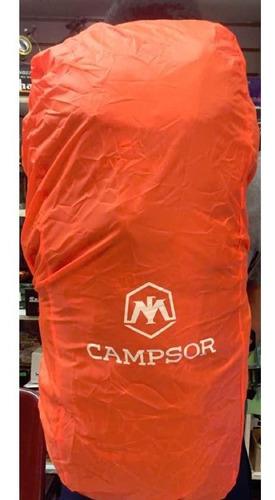 cubre mochila 40 a 60 litros impermeables / jainel fishing