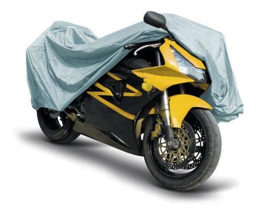 cubre moto universal plata 90x39x49cm