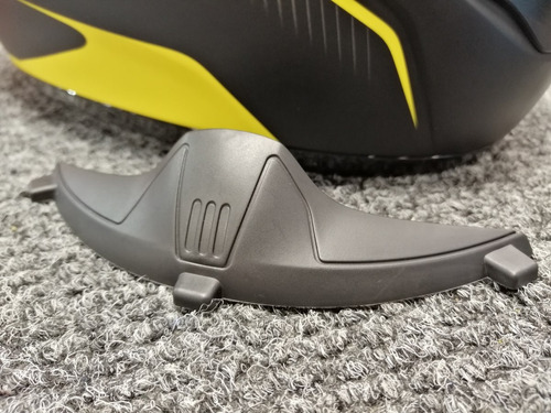 cubre nariz deflector casco moto hjc cl-st fs-15 cl-16 cl-y