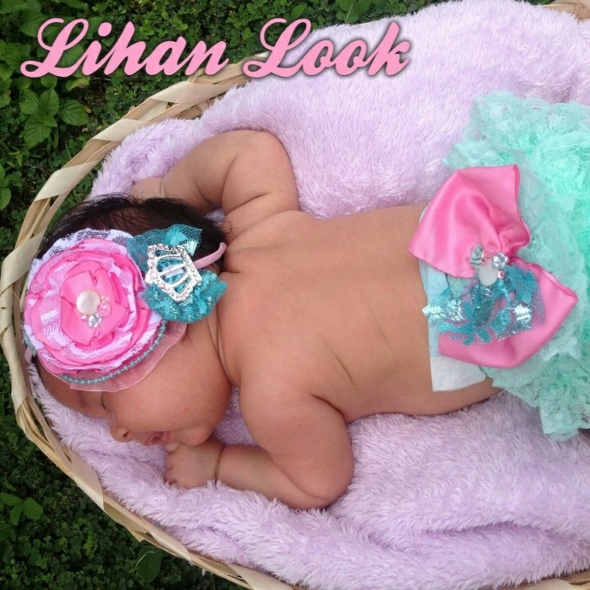 Cubre Paal Con Cintillos Lazos Tocados Para Bebes Bs 2900000