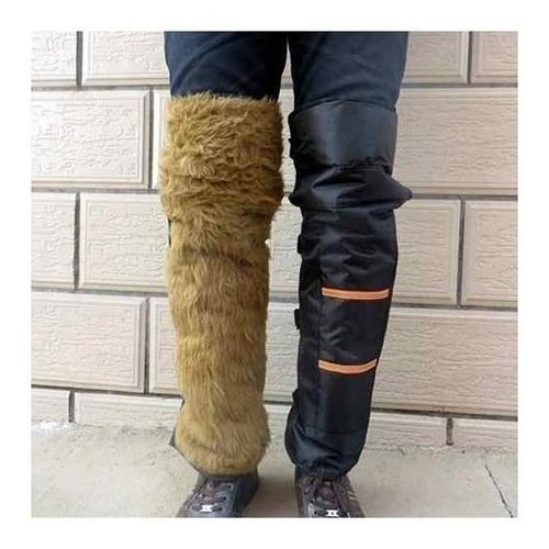 cubre piernas protector termico moto lluvia y frio acolchado