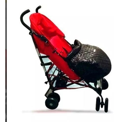 cubre pies cochecito bebé