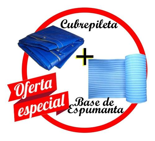 cubre pileta + base protectora modelo 1020 de1,85m x 1,45m