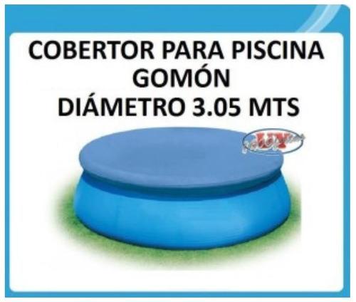 Tapa funda cobertor cubre piscina mts para gom n for Cubre piscina bestway