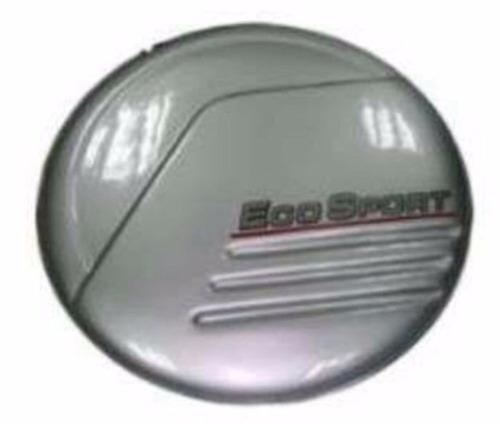 cubre repuesto porta caucho ford eco sport aro inoxidable