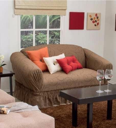 Cubre sala de tela lavable en casa 160 hilos mod - Telas cubre sofas ...