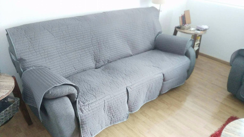cubre salas cubre sillón - juego 3 protectores - a la medida