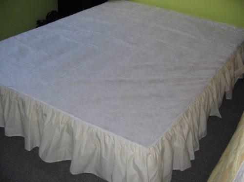 Cubre Somier  Accesorios P/tu Dormitorio 6 Pagos Sin Interes