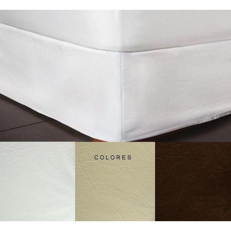 cubre sommier ecocuero 200x200 king size cuero ecol gico en mercado libre. Black Bedroom Furniture Sets. Home Design Ideas