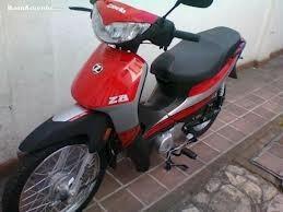 cubre tablero zanella zb 110- g1 rojo- dos rueda motos