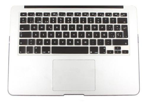 cubre teclado español silicona - macbook pro / air / retina