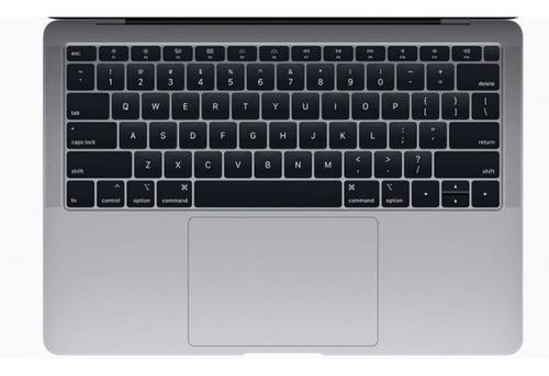cubre teclado negro ingles macbook air 13  (con touch id)