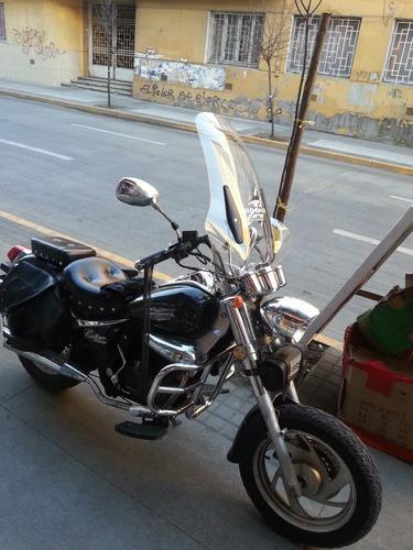 cubre viento grande moto