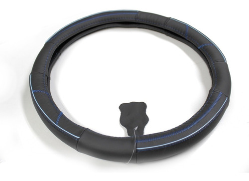 cubre volante cuero negro talla m