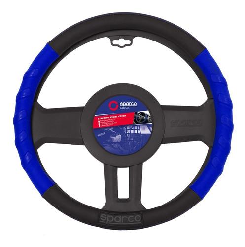 cubre volante deportivo auto sparco gris rojo azul