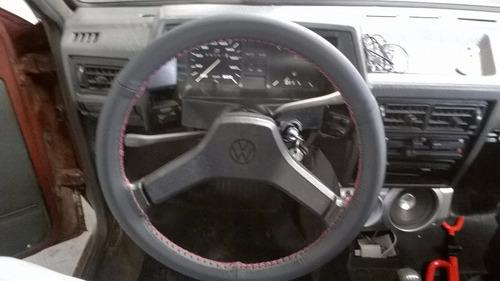 cubre volante p/ autos en cuero genuino volkswagen