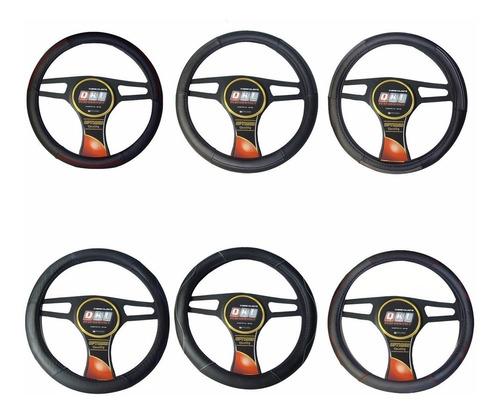 cubre volante para auto qkl sobrio - símil cuero acolchonado