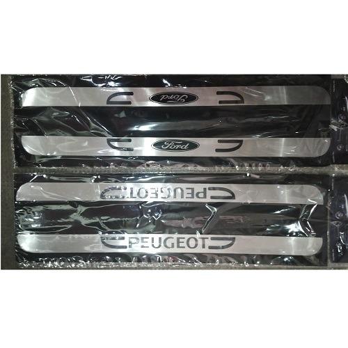 cubre zocalos de aluminio x 2 unid. autoadhesivo