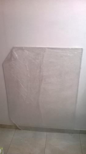 cubrealfombra secretarial acrílico 90x120 cms cubrealfombras