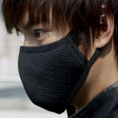 cubreboca ciclista, frio, polvo ceniza gripe contaminacion