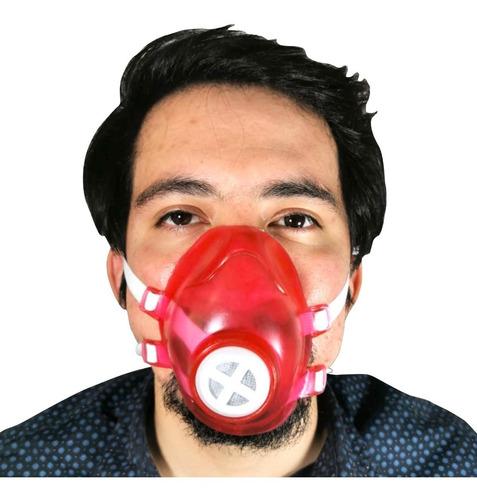 cubreboca filtro carbon activado lavable reusable con envío