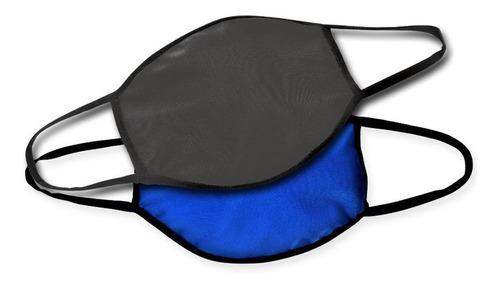 cubreboca lavable y reutilizable de tela (2 piezas)