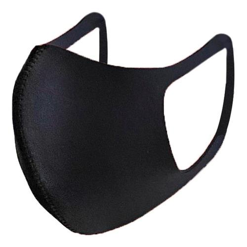 cubreboca neopreno black good protector reusable lavable 1pz