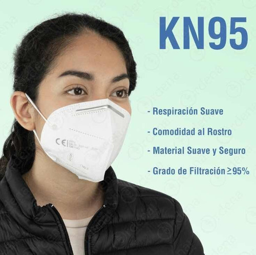 cubrebocas certificado protección profesional n95 kn95