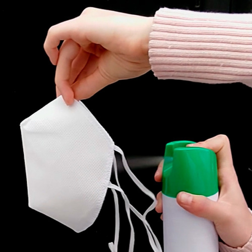 cubrebocas doble capa paquete de 10 piezas