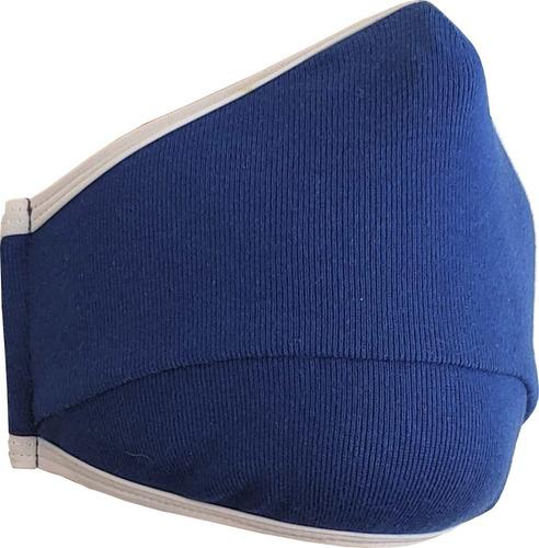 cubrebocas - lavable reutilizable - confort 24 hrs - 10 pz