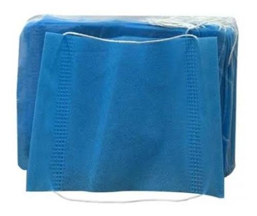 cubrebocas quirürgico 3 capas mayor proteccion 100 pzas